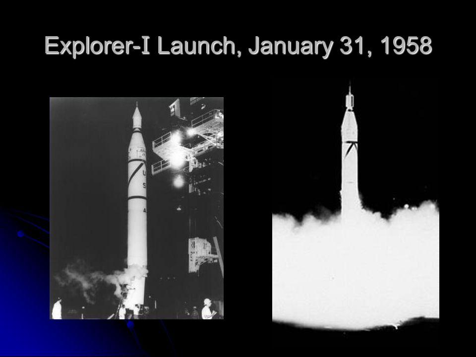 Explorer- I Launch, January 31, 1958