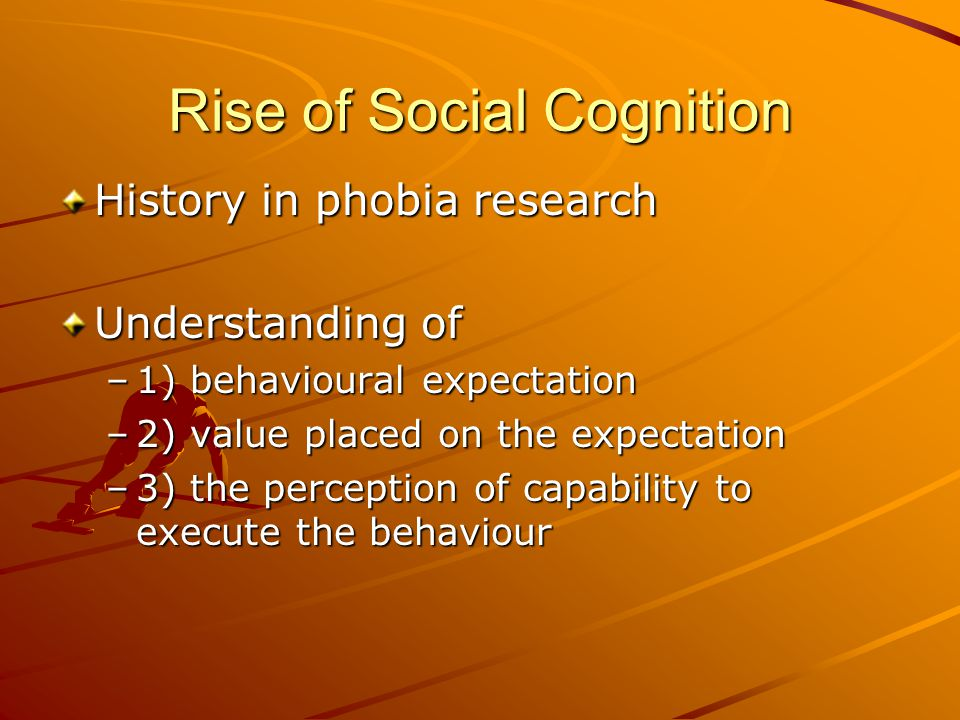 Social Cognitive Theory (Bandura) Mix of operant learning, social learning, and cognitive theory Theory postulates that behaviour, the environment, and personal factors all interact continuously