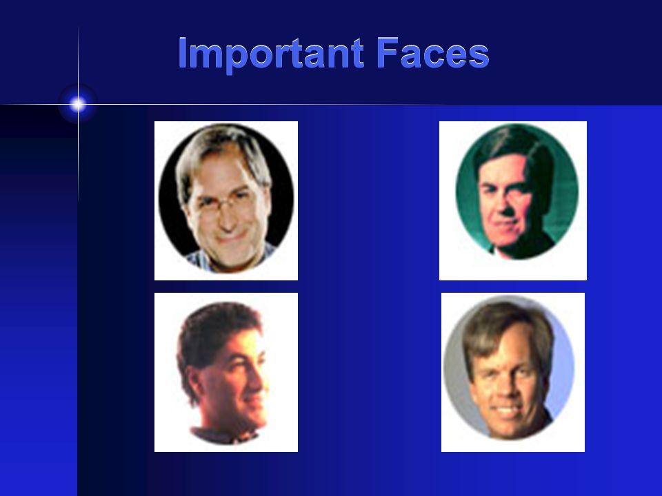 Important Faces