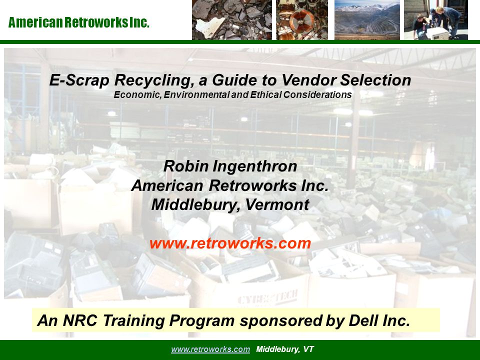 American Retroworks Inc.