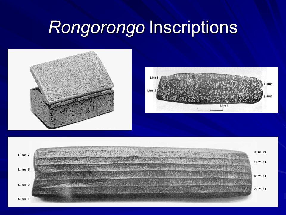Rongorongo Inscriptions