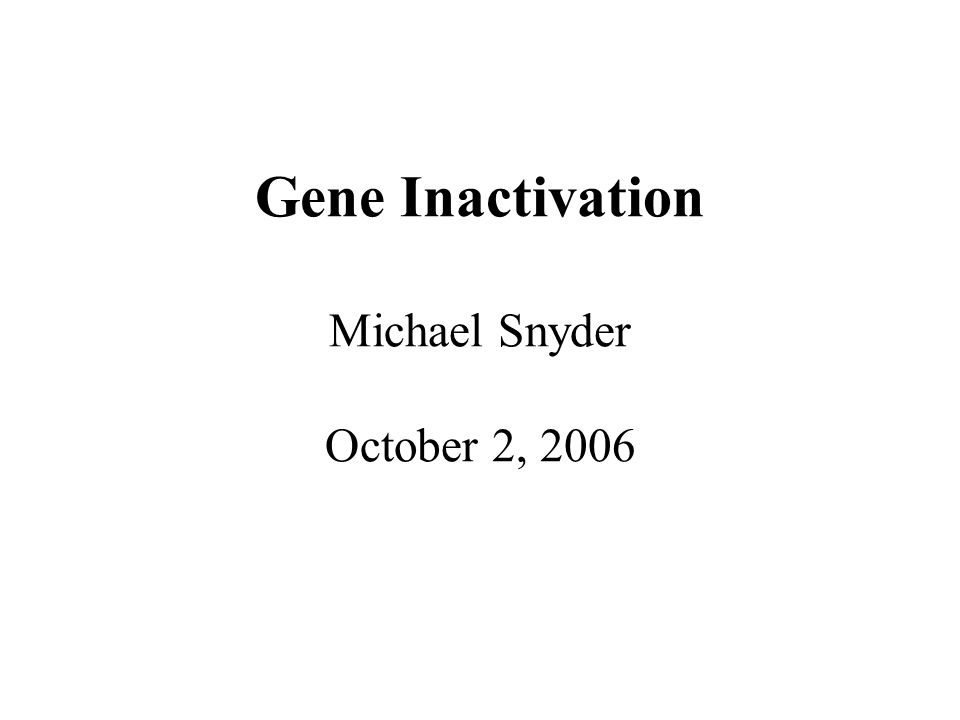 Clustering Genes
