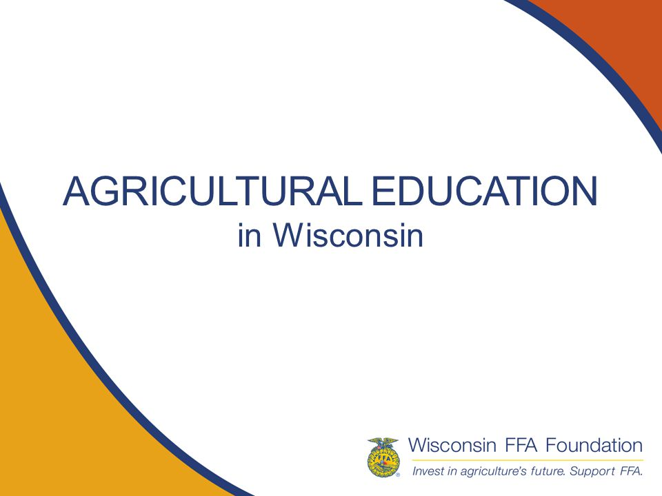 Why Ag Ed For Stronger Communities Ag Ed has been creating engagement between communities and the education system since its beginning.