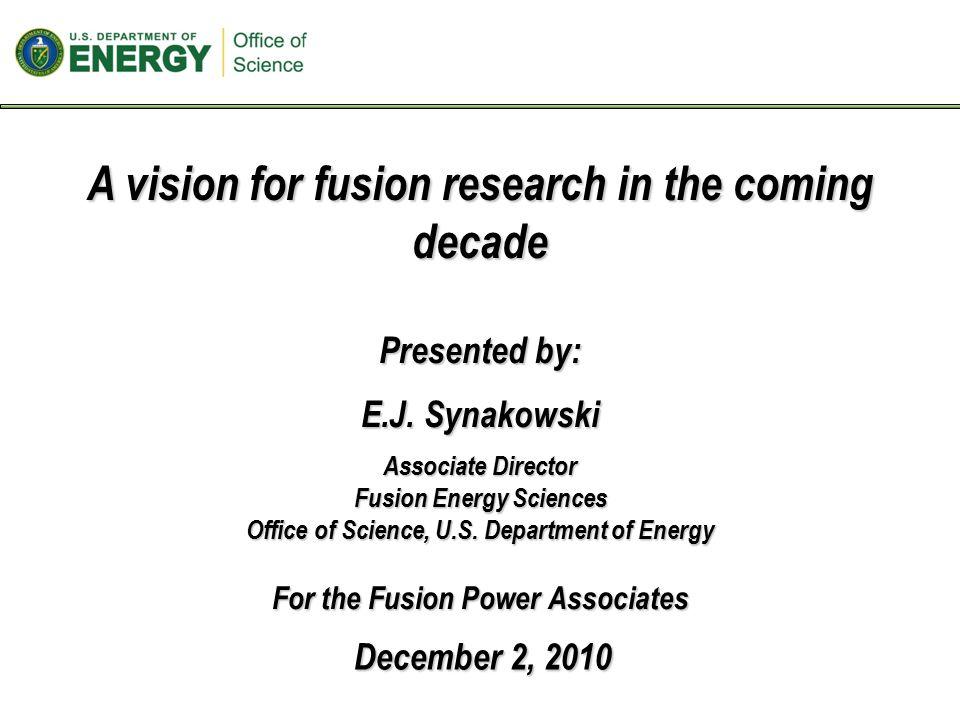  Plasma/surface interactions: establishing boundary of a fusion plasma.