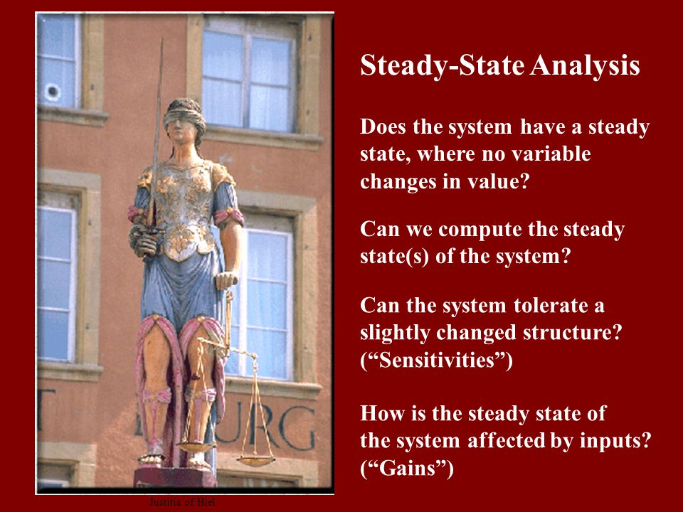 Can we compute the steady state(s) of the system.
