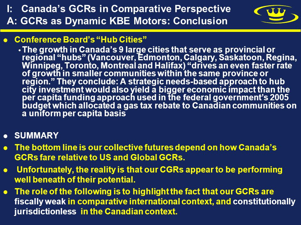 V: Toward a New Municipal Reality A: Democracy and Accountability While cities historically may be places where democracy flourished, the Canadian reality is very different Understandably citizens will not become excited about local democracy and accountability as long as cities are at best administrative units.
