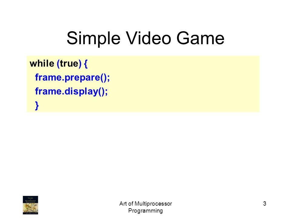 Art of Multiprocessor Programming 14 Barrier Synchronization 1 1 1 barrier