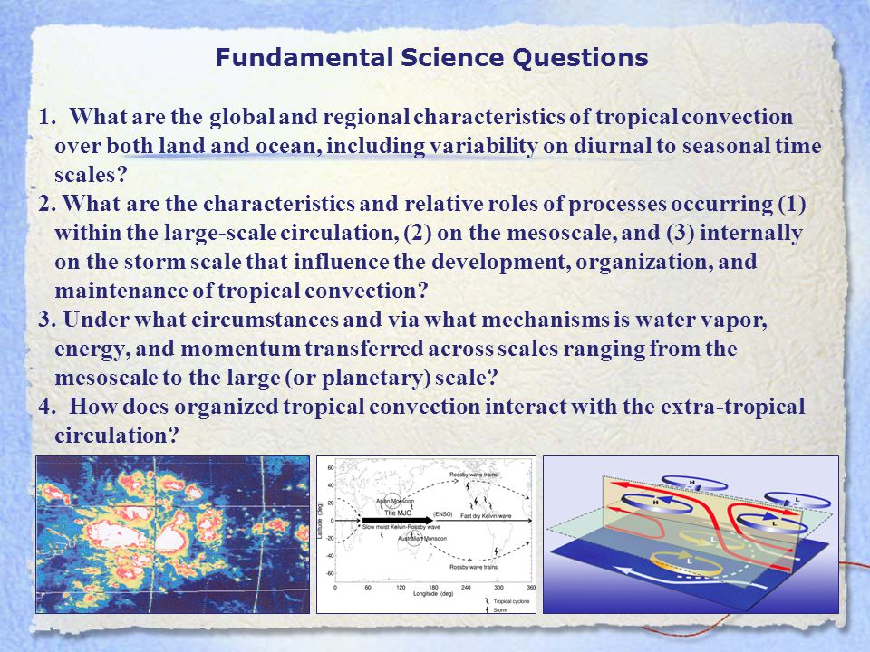 Fundamental Science Questions 1.