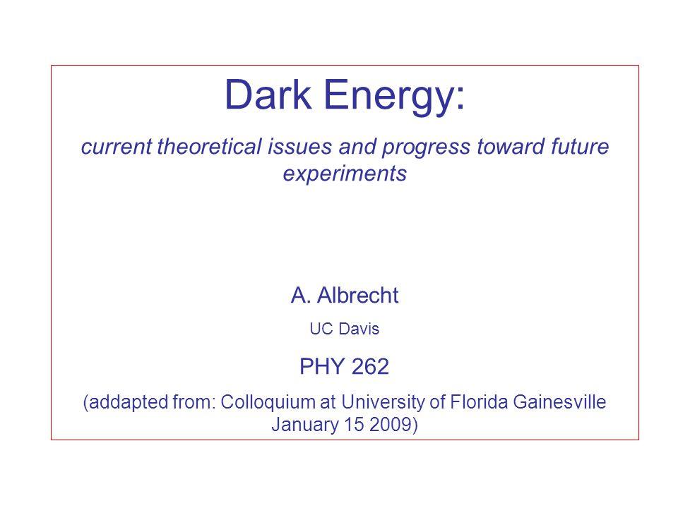 Dark Energy with Type Ia Supernovae Exploding white dwarf stars: mass exceeds Chandrasekhar limit.