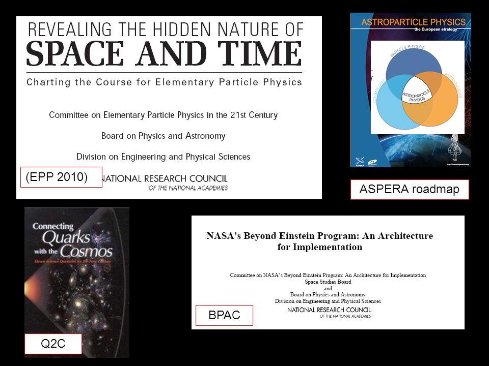 (EPP 2010) BPAC Q2C ASPERA roadmap