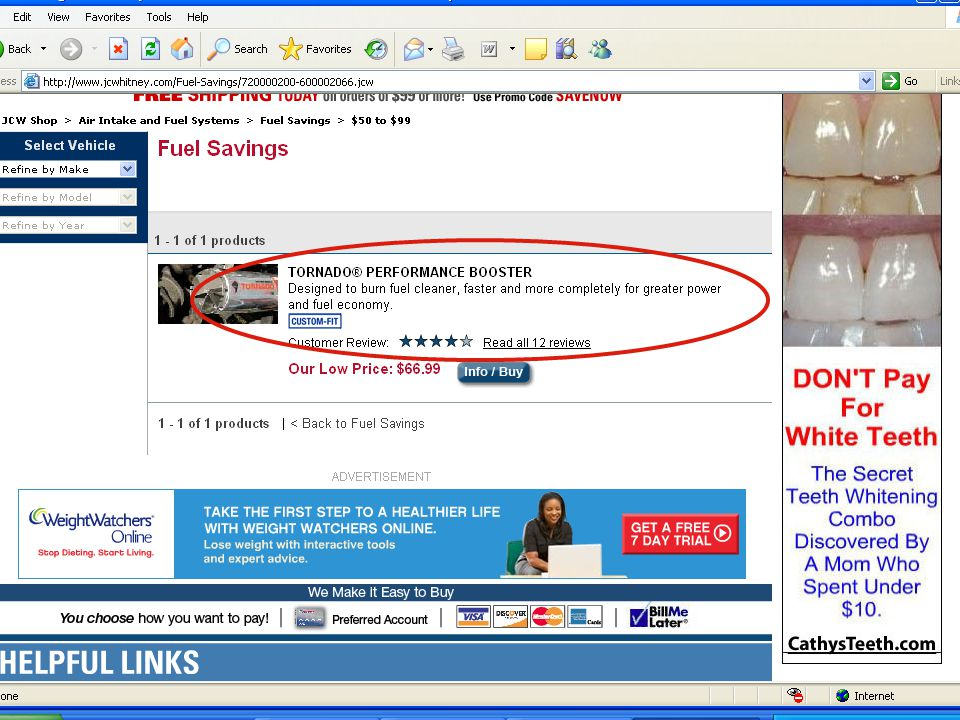 Advertising Pitfalls and Rules: Legally Speaking 59 Price Savings Claim [See YouTube Video http://www.youtube.com/watch v=8DJYk 0km3n4] http://www.youtube.com/watch v=8DJYk 0km3n4