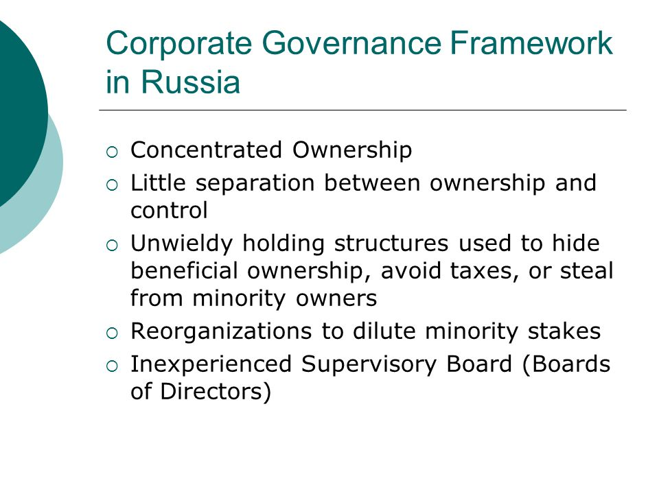 Theory  Berle and Means (1932) – separation of ownership and control through modern corporation structures  Agency Problem