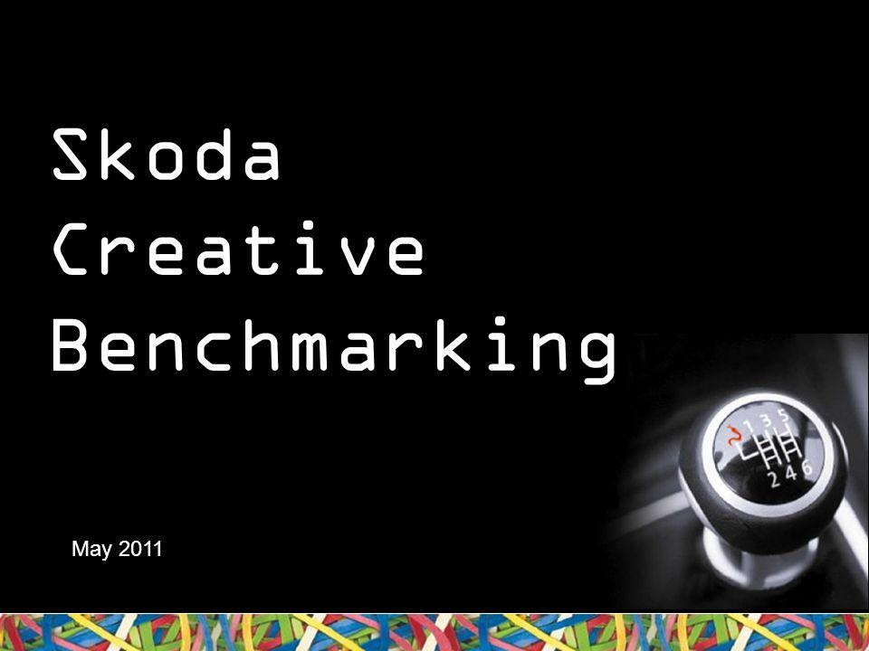 Skoda Creative Benchmarking May 2011