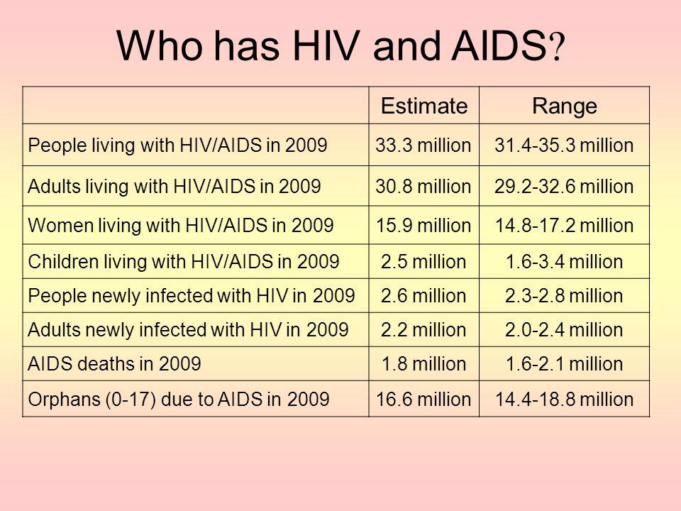 HIV / AIDS a global pandemic Lois Jensen (2010). The Millennium Development Goals: Report 2010. New York, N.Y.: United Nations Department of Economic