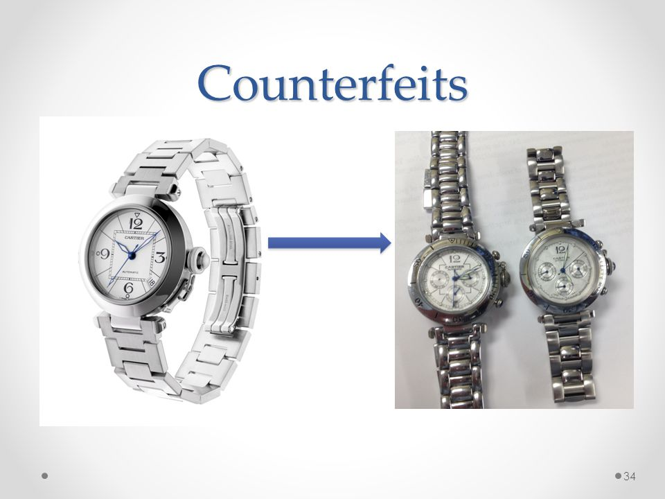 Counterfeits 34