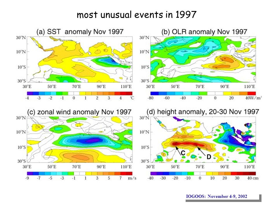 IOGOOS: November 4-9, 2002 most unusual events in 1997