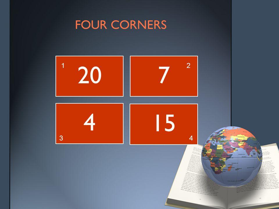 FOUR CORNERS 207 4 15 12 34