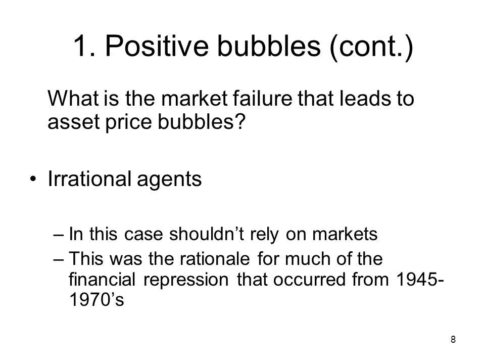 19 2.Negative bubbles (cont.) How do such negative bubbles occur.