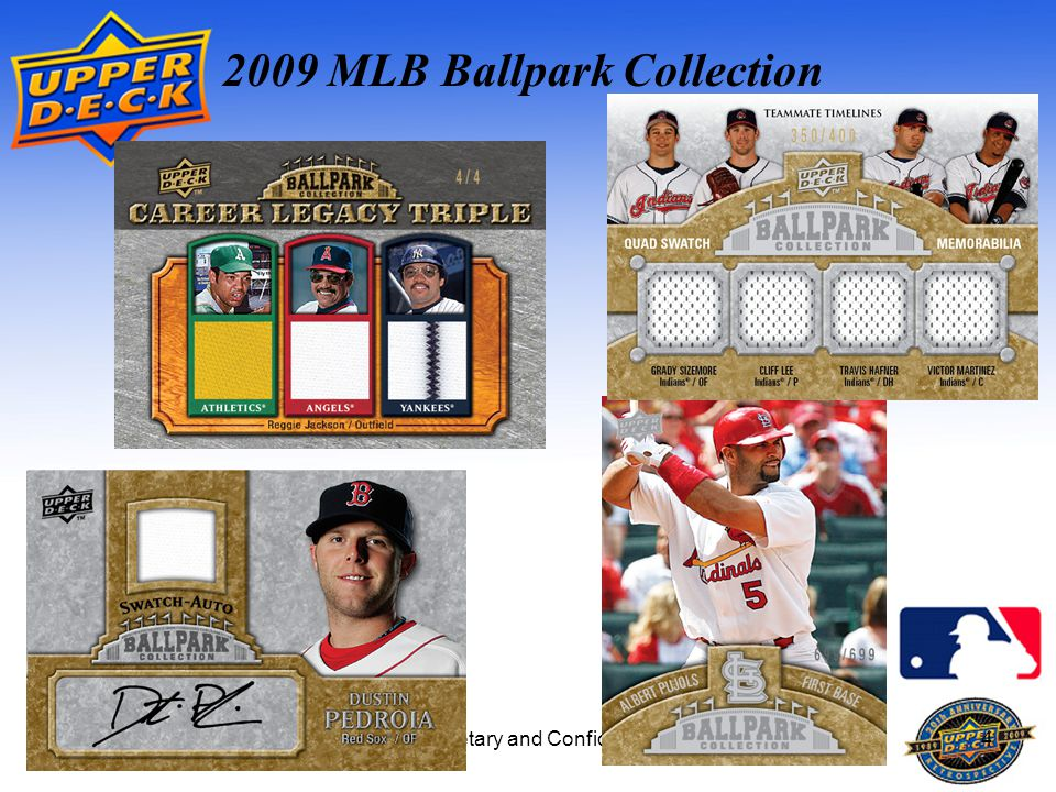 Proprietary and Confidential4 2009 MLB Ballpark Collection