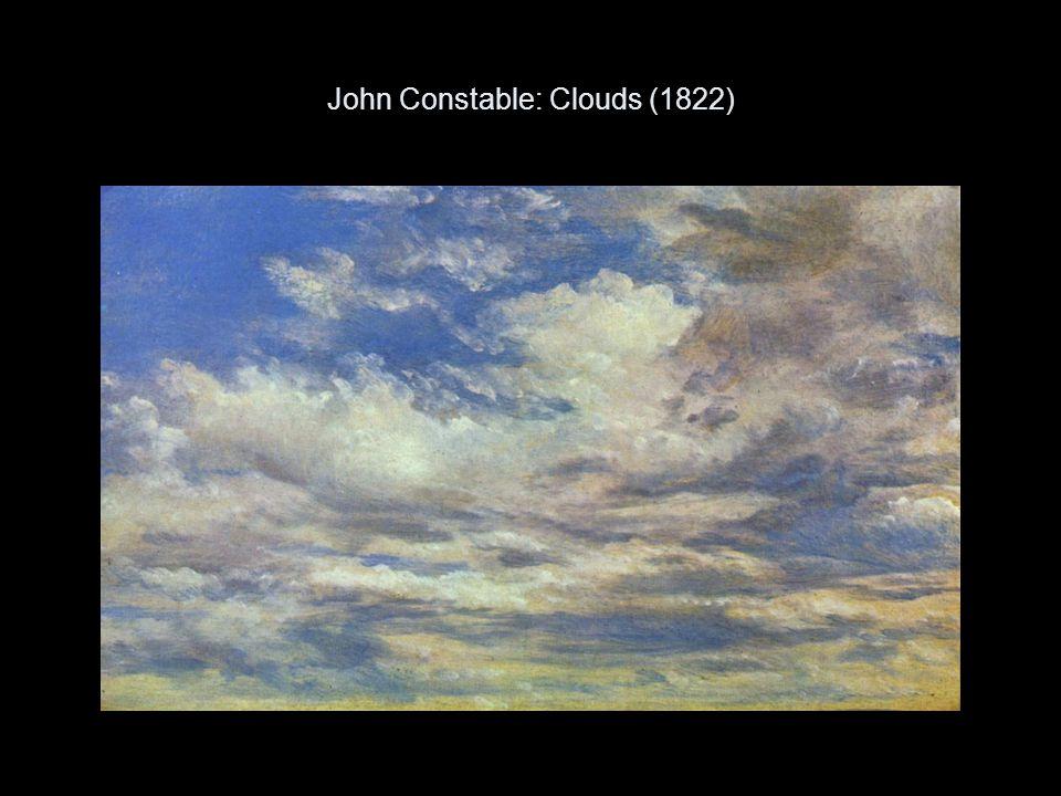 John Constable: Clouds (1822)