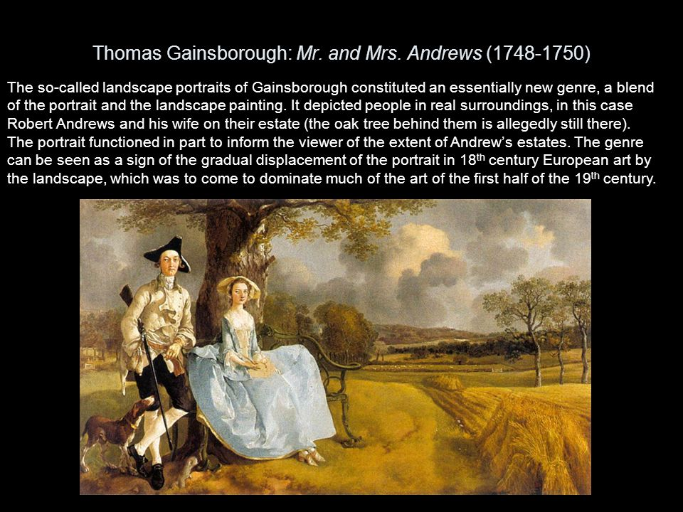 Thomas Gainsborough: The Painter`s Daughters Chasing a Butterfly