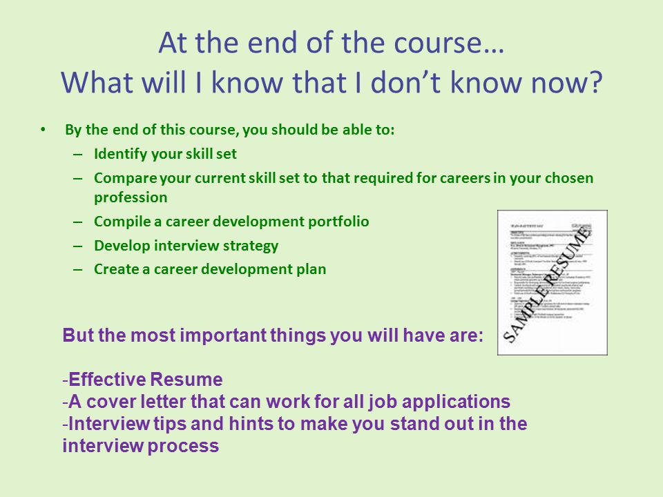 What is Career Development Strategies .