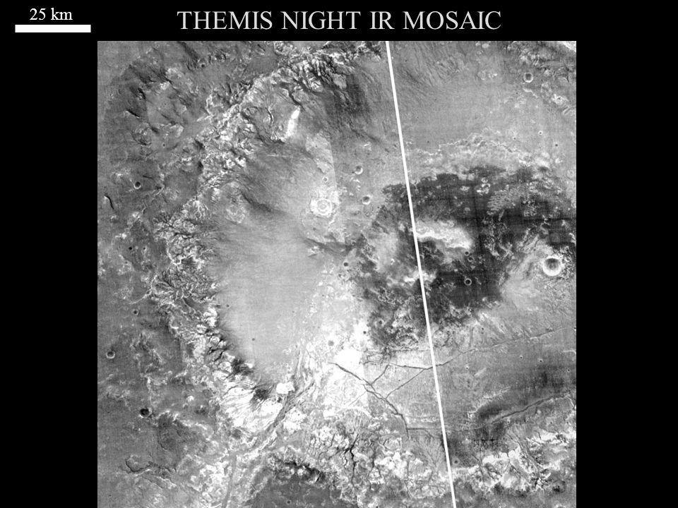 THEMIS NIGHT IR MOSAIC 25 km