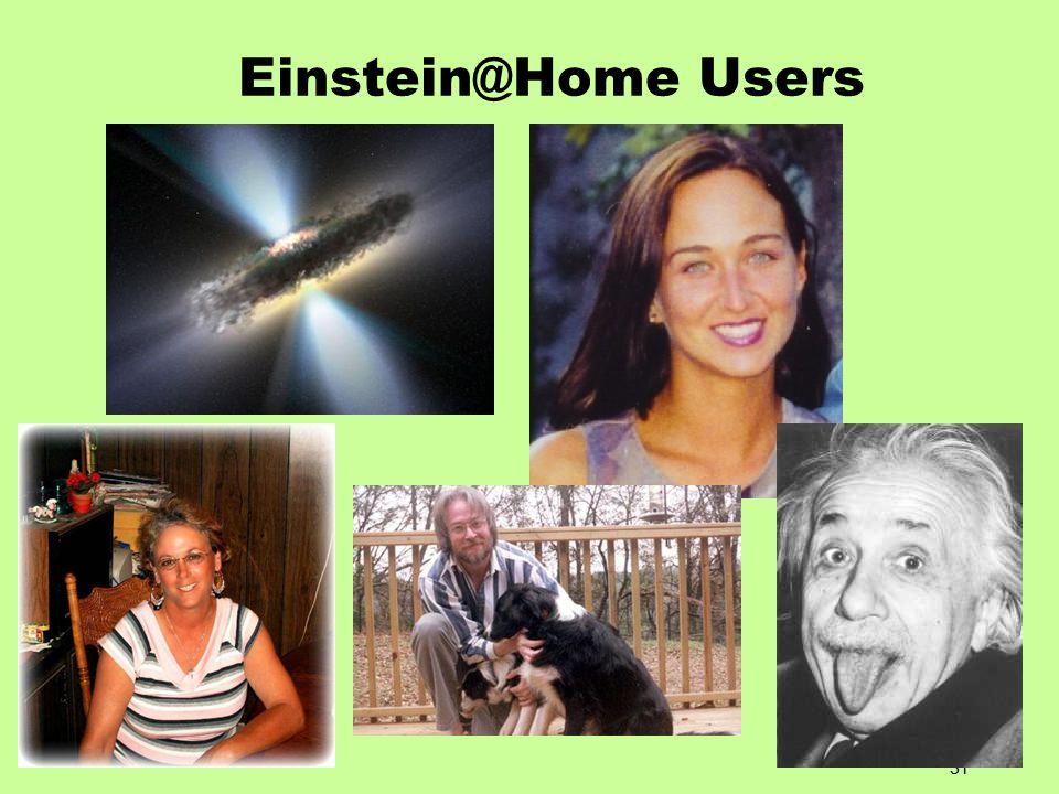 31 Einstein@Home Users