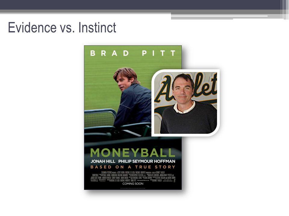 Evidence vs. Instinct