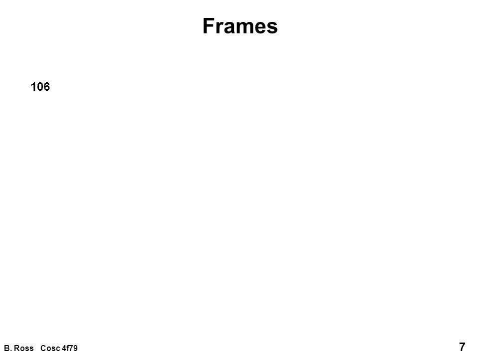 B. Ross Cosc 4f79 18 Frame integration furniture frames