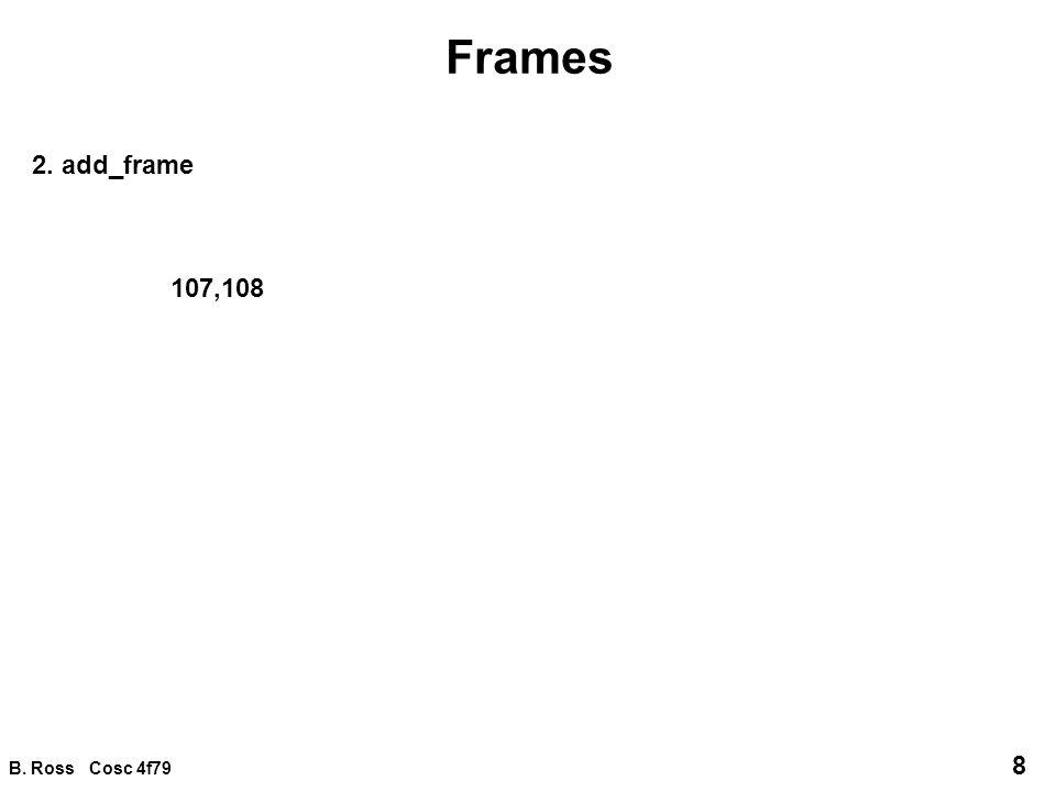 B. Ross Cosc 4f79 9 Frames 3. del_frame 109,110
