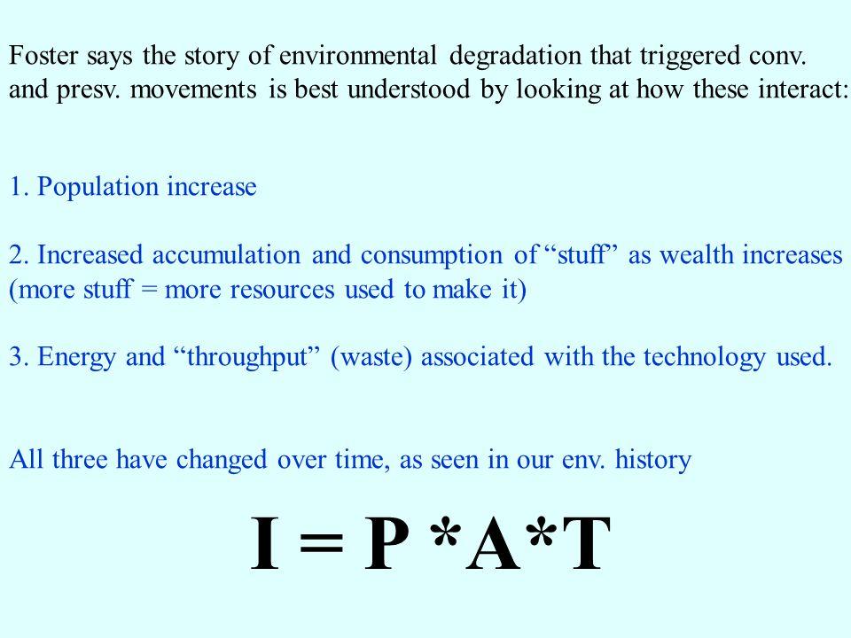 End industrialazion impacts presentation