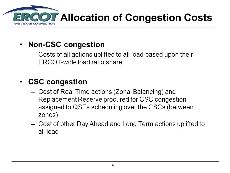 5 2004 Local Congestion Cost by Zonal Location of Generators ($000) Congestion Zone OOME Up OOME DownOOMCRMRTOTAL Northeast$ 59$ 6,392$ 423$ 0$ 6,874 North$ 6,346$20,115$60,727$ 8,181$ 95,369 Houston$ 305$ 2,351$ 407$ 0$ 3,063 West$ 4,605$ 4,903$ 6,552$22,339$ 38,399 South$ 7,676$21,622$ 8,660$89,019$126,977 TOTAL$18,991$55,383$76,769$119,539$270,682