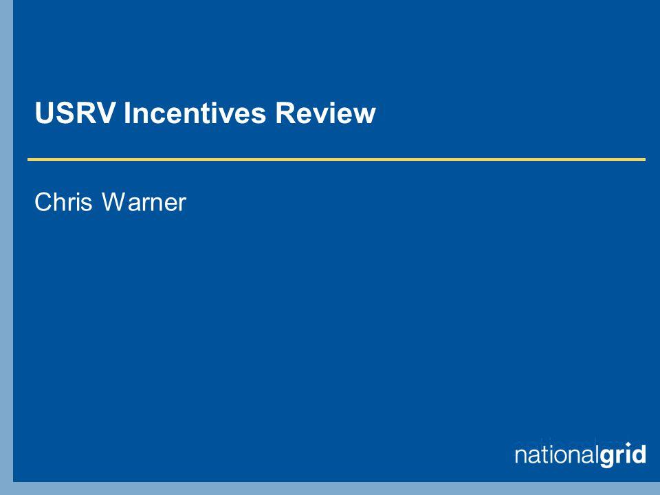 USRV Incentives Review Chris Warner