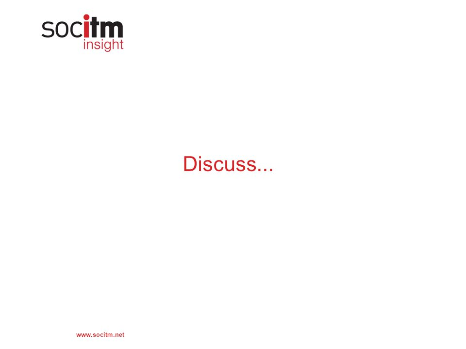 www.socitm.net Discuss...