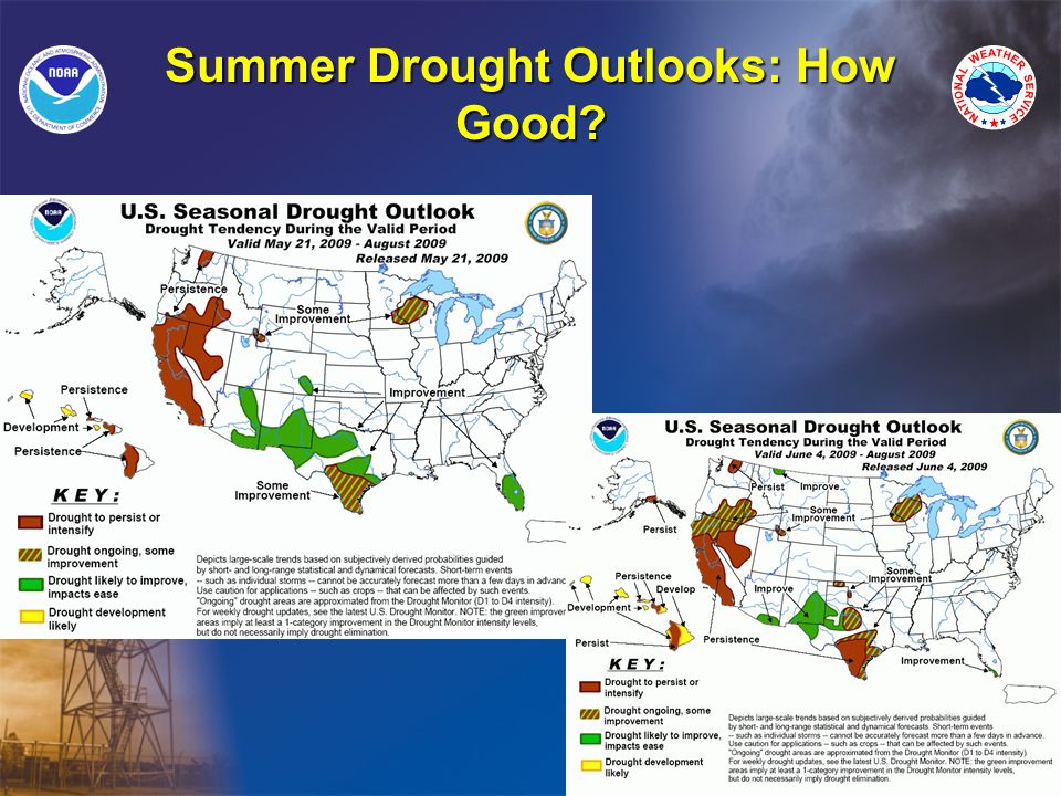 Summer Drought Outlooks: How Good
