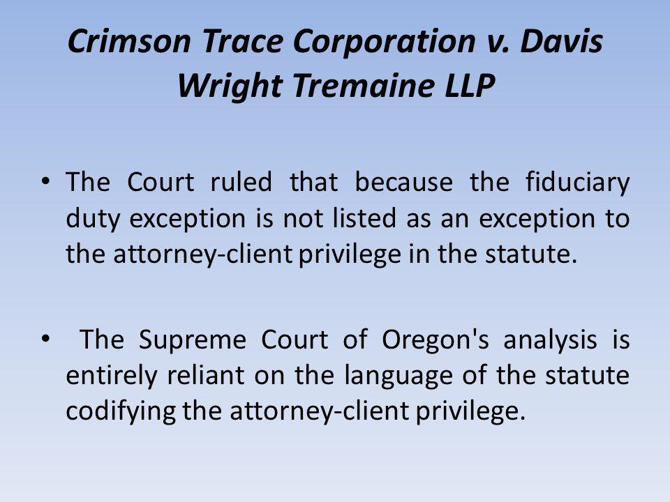Crimson Trace Corporation v.
