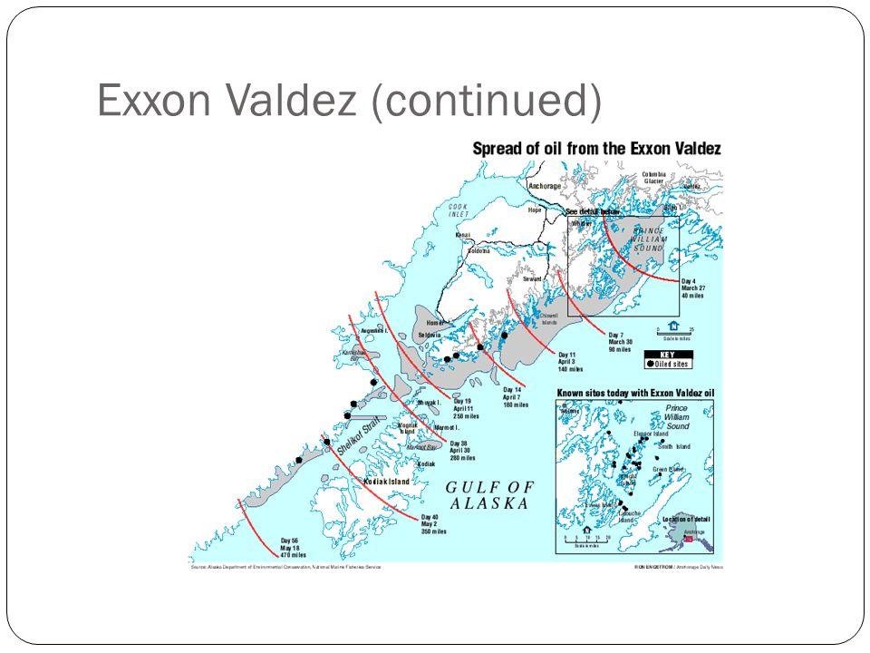 Exxon Valdez (continued)