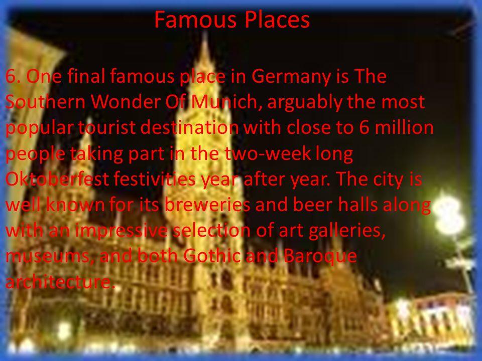 Famous Places 6.