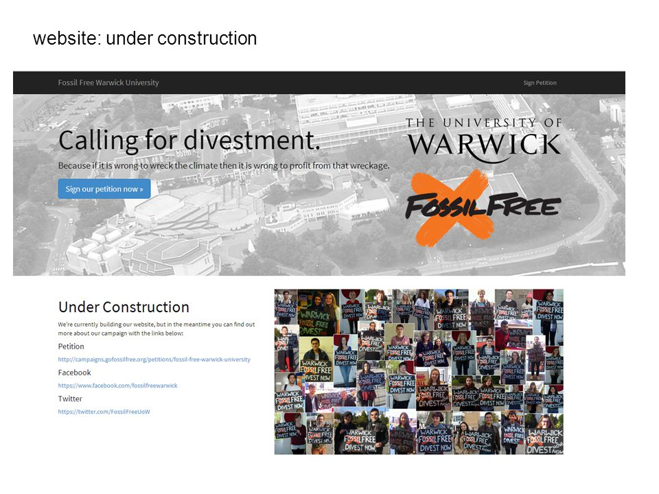 website: under construction