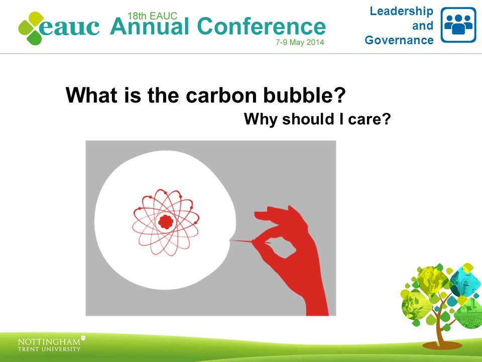 The Carbon Bubble – Carbon Tracker Initiative