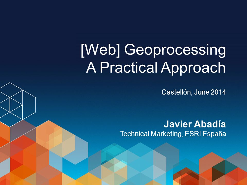 What is Geo-Processing.