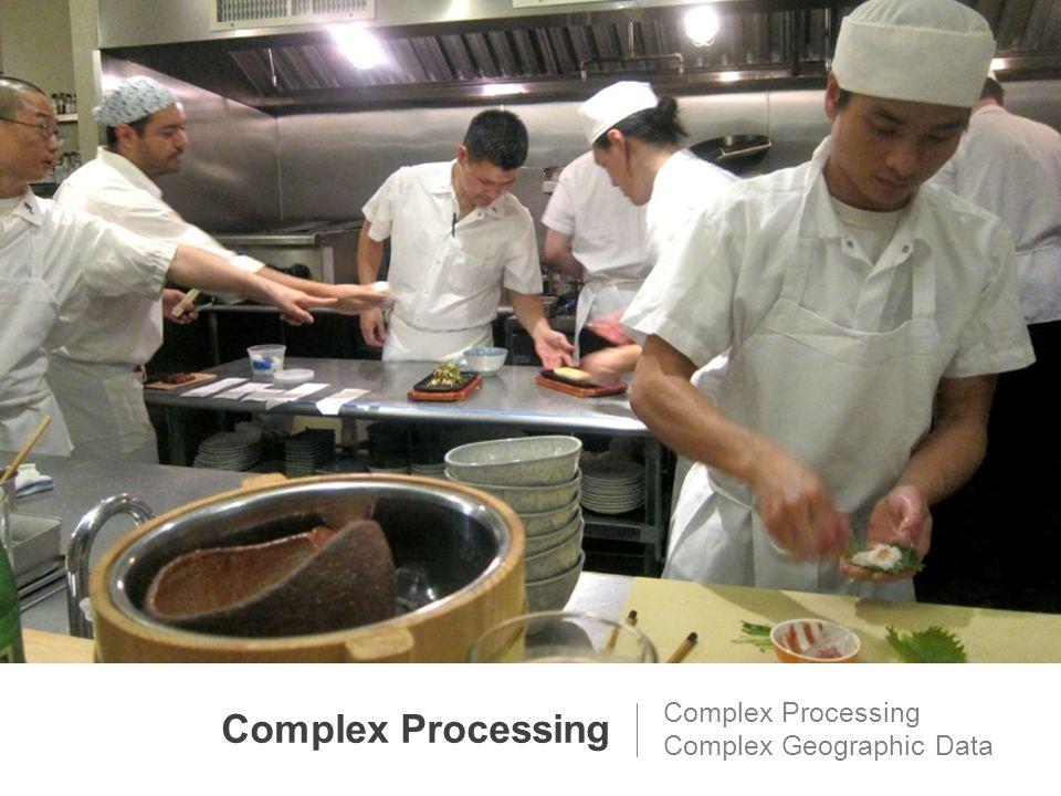 Complex Processing Complex Geographic Data