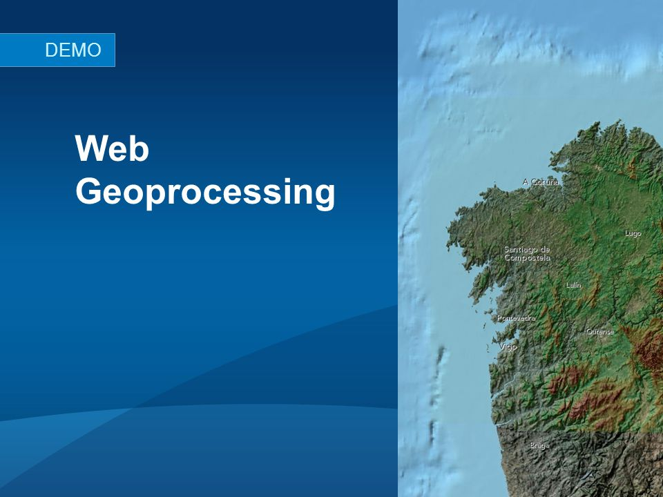 Web Geoprocessing DEMO