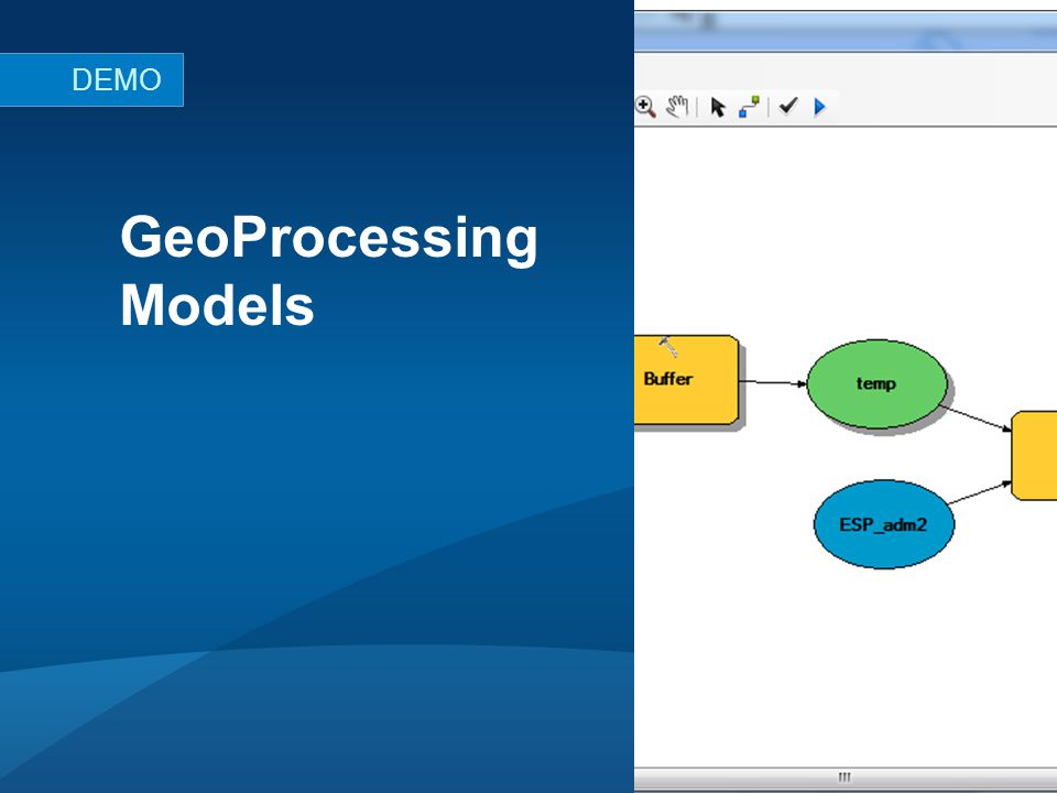 GeoProcessing Models DEMO