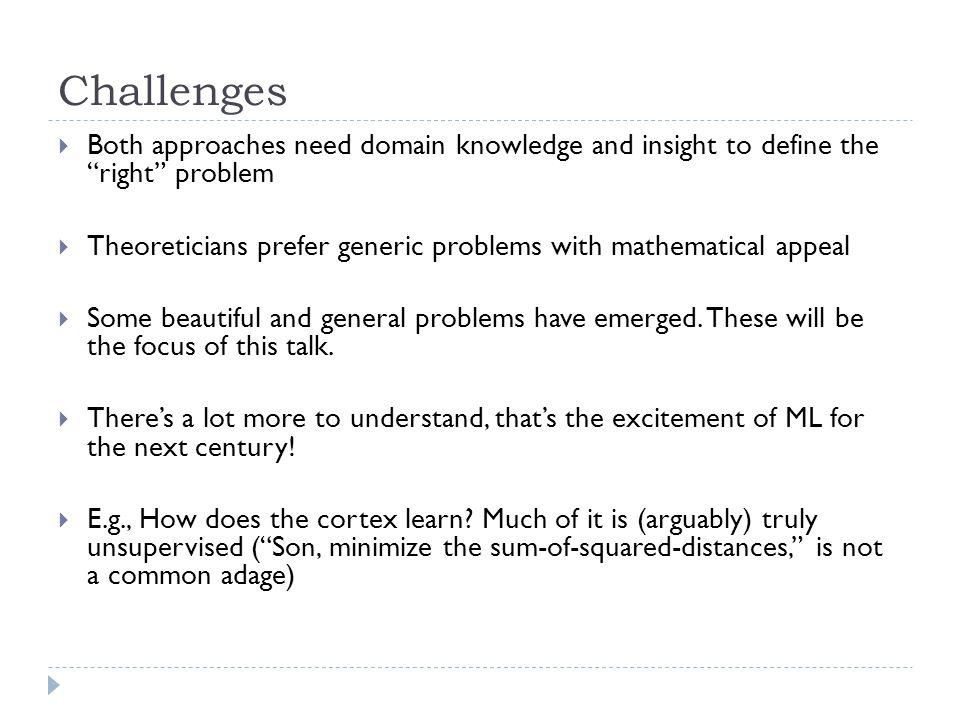 Solution: Top principal component.