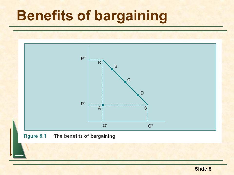 Slide 8 Benefits of bargaining