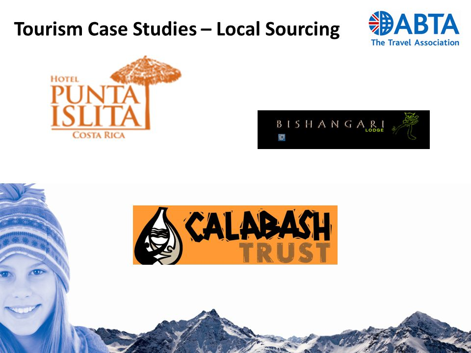 Tourism Case Studies – Local Sourcing
