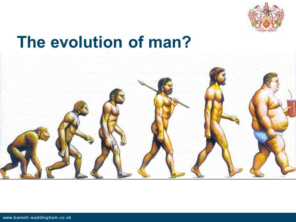 www.barnett-waddingham.co.uk The evolution of man
