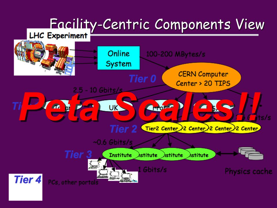 Facility-Centric Components View Peta Scales!!
